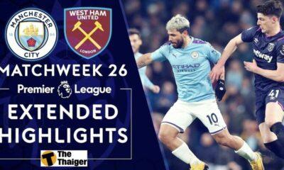 Highlight trận Man City vs West Ham: De Bruyne tỏa sáng, Man City giành chiến thắng nhẹ nhàng | The Thaiger