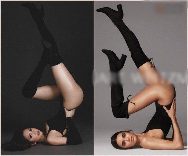 Ngọc Trinh bị tố bắt chước Kendall Jenner trong loạt ảnh gợi cảm mới | News by Thaiger