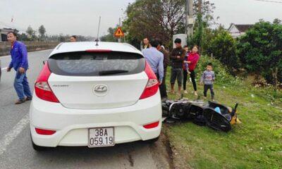 Hà Tĩnh: Ô tô tông mạnh từ sau khiến nữ giáo viên tử vong | Thaiger