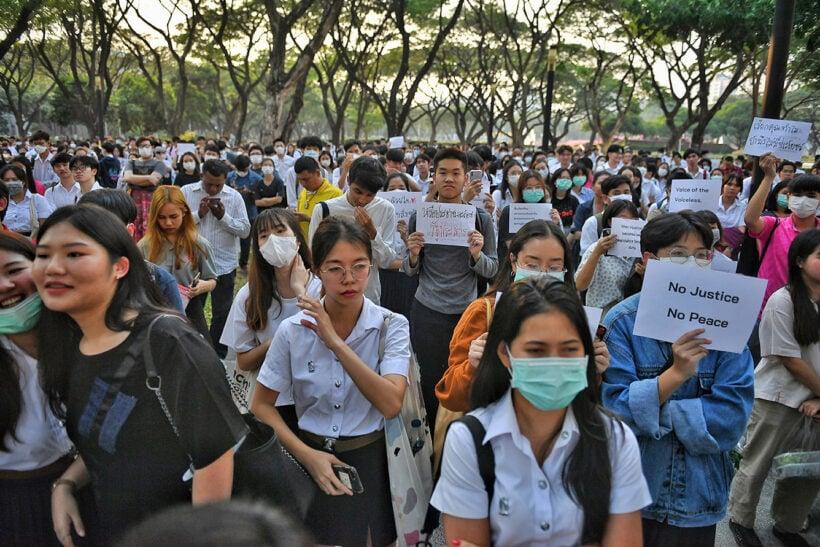Bangkok police on alert at student rallies   Thaiger