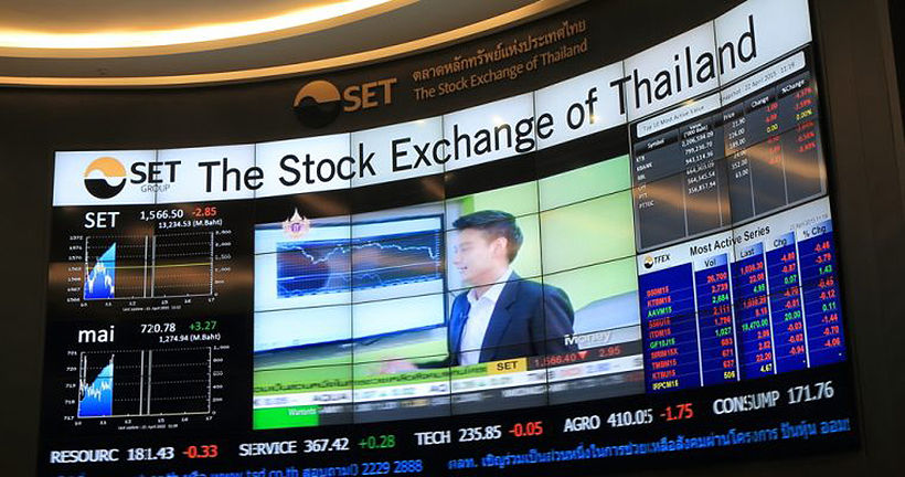 Thai stocks plummet nearly 4% in Monday SET trading | The Thaiger