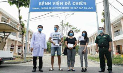 Cập nhật COVID-19 tại Việt Nam (Tối 30/3): Bệnh nhân CH Séc rối rít 'cảm ơn Việt Nam' khi xuất viện | Thaiger