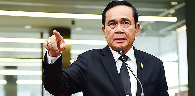 Thai PM voices concern over students' 3 finger salute | Thaiger