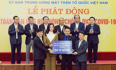 Hoa hậu Mai Phương Thúy đại diện doanh nghiệp trao 20 tỷ đồng cho chính phủ chống dịch COVID-19 | The Thaiger