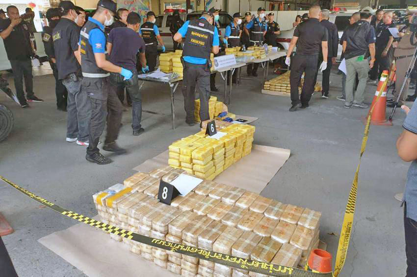 100 kilograms of crystal meth wash ashore in Thailand's southeast | News by Thaiger