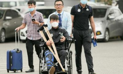 Đỗ Duy Mạnh đứt dây chằng và lỡ hẹn với vòng loại World Cup 2022 | The Thaiger
