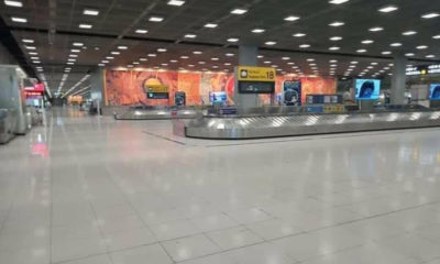"""Where is everyone?"" – Suvarnabhumi airport deserted on Saturday night 