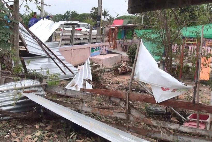 Summer storms batter Korat, Buri Ram | News by Thaiger