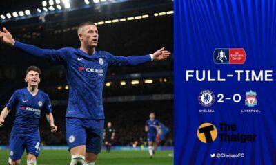 Chelsea đánh bại Liverpool để tiến vào Tứ kết FA Cup   The Thaiger