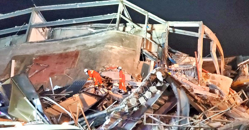 7 dead, dozens trapped in China quarantine hotel collapse   News by Thaiger