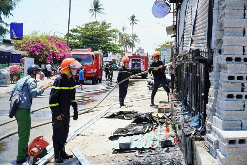 Bình Thuận: Quán bar và khu nghỉ dưỡng bị thiêu rụi | News by Thaiger
