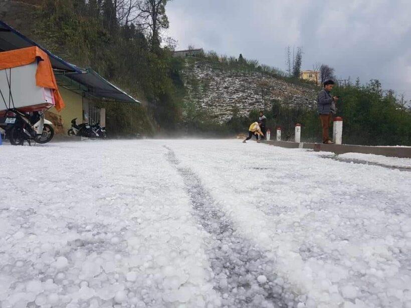 Lai Châu: Mưa đá gây thiệt hại nặng nề tài sản và hoa màu | News by Thaiger