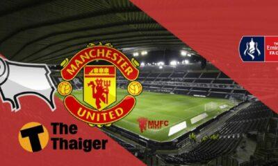 Derby County vs Manchester United: Vòng 5 Cúp FA – 02h45 ngày 6/3 – Rooney đối đầu với đội bóng cũ | The Thaiger