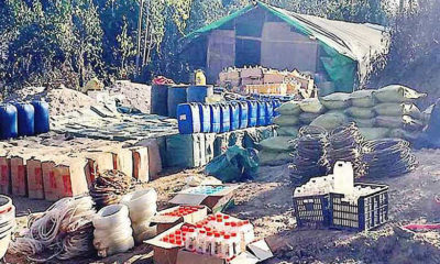 Burmese military seize drugs and equipment valued at 2.02 billion baht north of Chiang Rai | The Thaiger