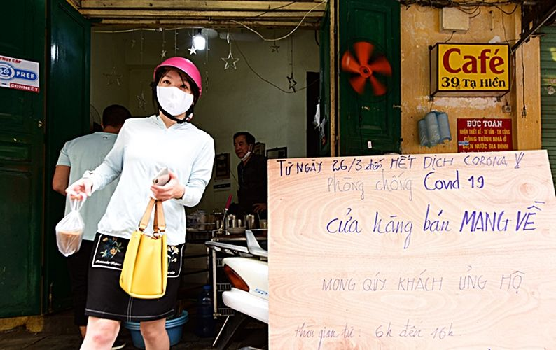 Covid-19: Hà Nội vắng tanh sau lệnh đóng cửa hàng dịch vụ | News by Thaiger