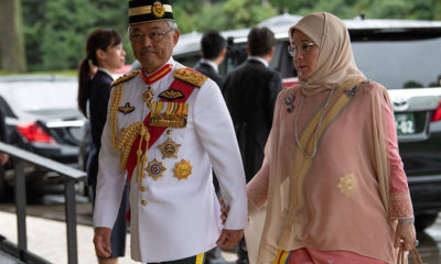 King and Queen of Malaysia under quarantine after palace staff test positive for coronavirus | The Thaiger