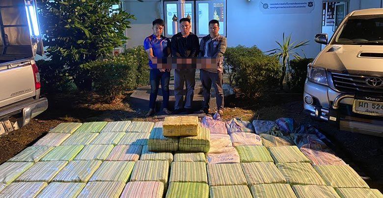 Police intercept huge meth shipment and a tonne of marijuana   News by Thaiger
