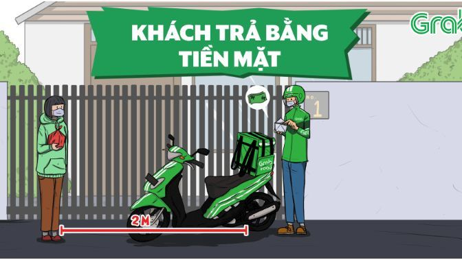 Grab Food launches 'contactless delivery' | News by Thaiger