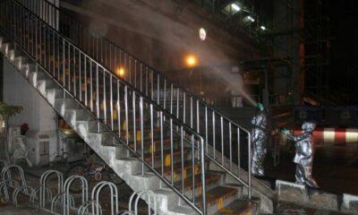 Army disinfects Bangkok's Lumphini Boxing Stadium | Thaiger