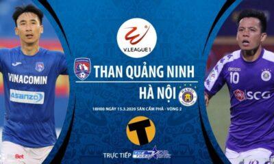 Than Quảng Ninh vs Hà Nội FC: Vòng 2 LS V-league 2020 – 18h00 ngày 15/03/2020 – Kiểm chứng sức mạnh nhà vô địch | Thaiger