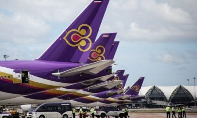 Thai Airways to auction off 34 used passenger aircrafts   The Thaiger