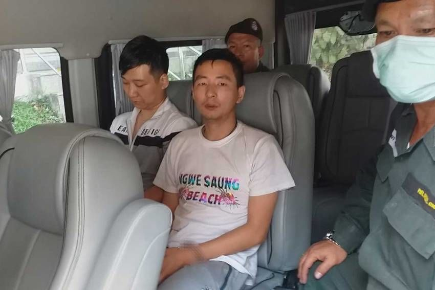 Chinese murderers arrested in Burmese border town | Thaiger