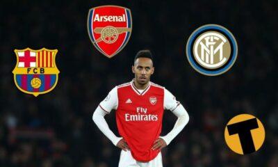 Tin chuyển nhượng: Pierre-Emerick Aubameyang đang nằm trong tầm ngắm của Barcelona và Inter Milan | Thaiger