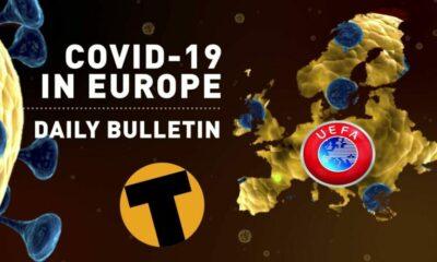 Cụm tin vắn bóng đá ngày 13/03/2020: Dịch Covid-19 bùng nổ, bóng đá Châu Âu tê liệt | The Thaiger