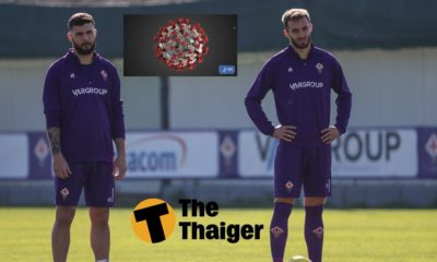 Nóng: Fiorentina thông báo có thêm 2 cầu thủ dương tính với Covid-19   The Thaiger