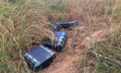 196 kilos of ganja found at north eastern Thai boarder | The Thaiger