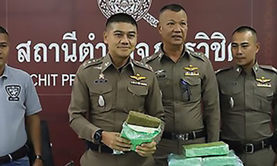 Man arrested with 44 kilograms of marijuana in Phuket | The Thaiger