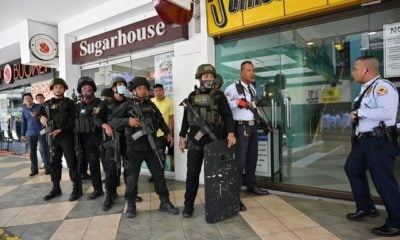 Sacked security guard takes around 30 hostages at shopping mall in Philippines | The Thaiger