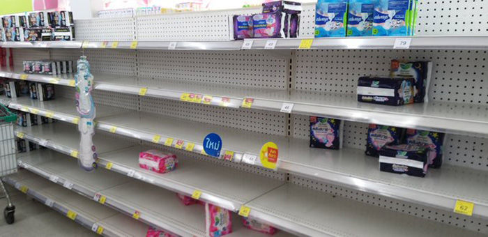 """""""We're not going to run out"""" - Thai Retailer Association 