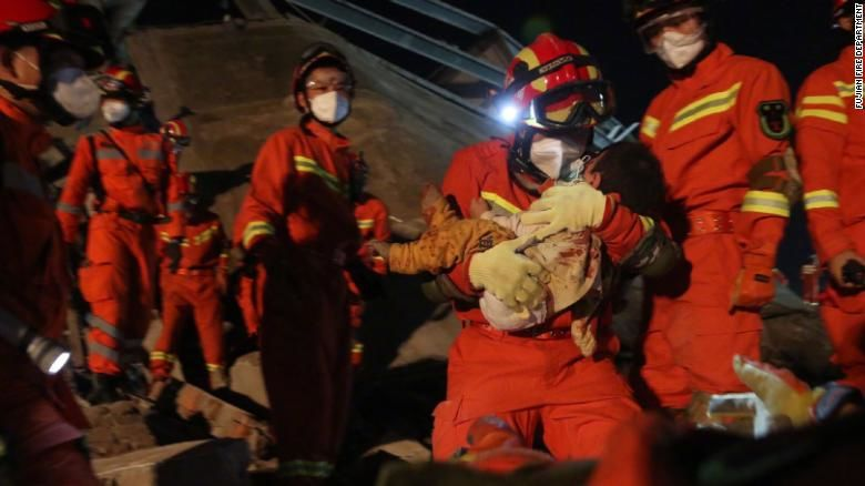 7 dead, dozens trapped in China quarantine hotel collapse | Thaiger