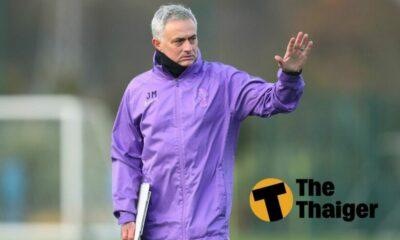 """Mourinho: """"Tôi đã giành chức vô địch tại mọi câu lạc bộ mà tôi dẫn dắt""""   Thaiger"""