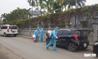Hải Phòng phong tỏa hai khu dân cư liên quan đến bệnh nhân thứ 17 nhiễm virus corona | The Thaiger