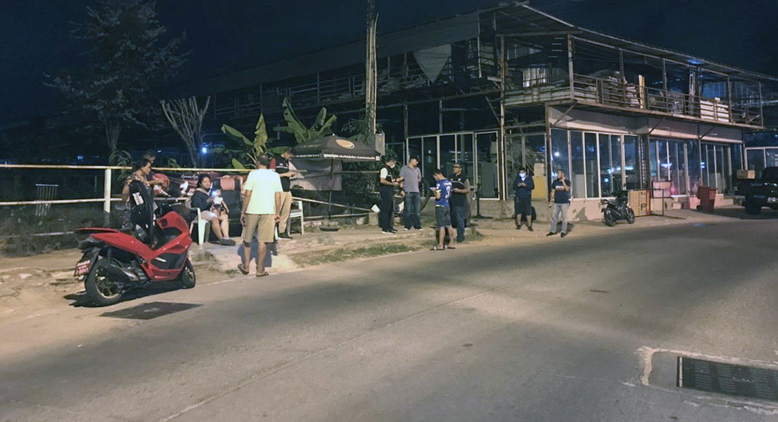 Pattaya motorbiker seriously wounded in early morning shooting   News by Thaiger