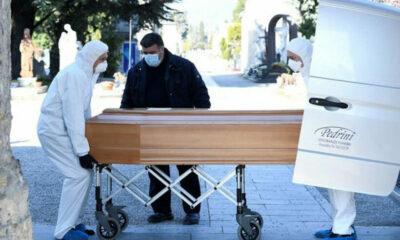 Nhà xác Italia quá tải vì số ca tử vong do Covid-19 tăng vọt | The Thaiger