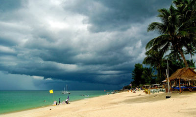 Hot and stormy in the North, cloudy with possible showers in the South | The Thaiger