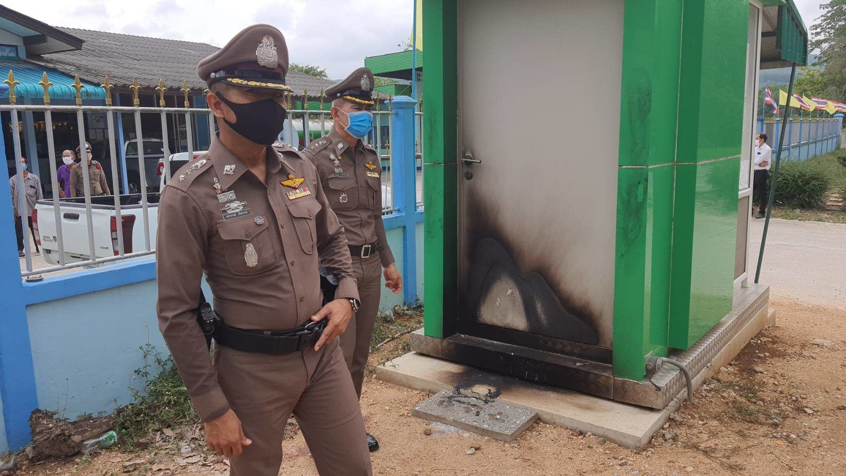 Drunken man incinerates ATM after running out of alcohol   News by Thaiger