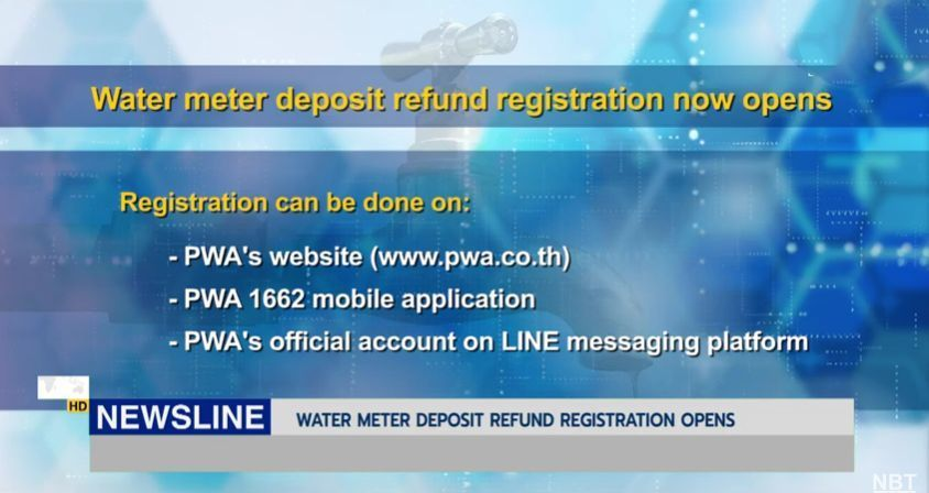 Water discounts and refunds will start May 1 | News by Thaiger