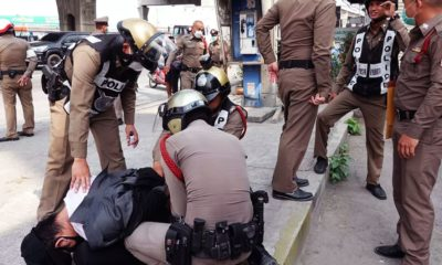 Desperate police officer nabbed trying to rob a bank in Chachoengsao | The Thaiger