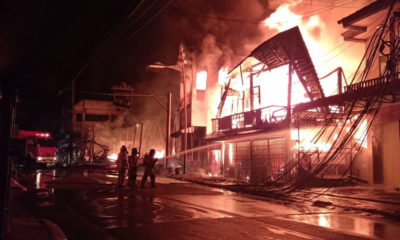 Biggest fire in 40 years at Mae Hong Son provincial city centre – VIDEO | Thaiger