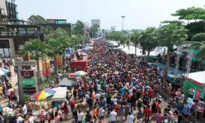 Pattaya's biggest Songkran party makes way for empty streets | Thaiger