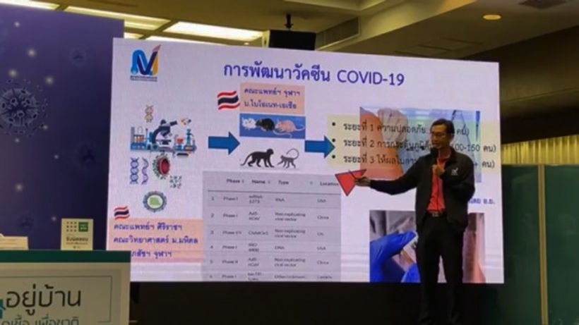 Thailand testing experimental Covid-19 vaccine on animals   Thaiger