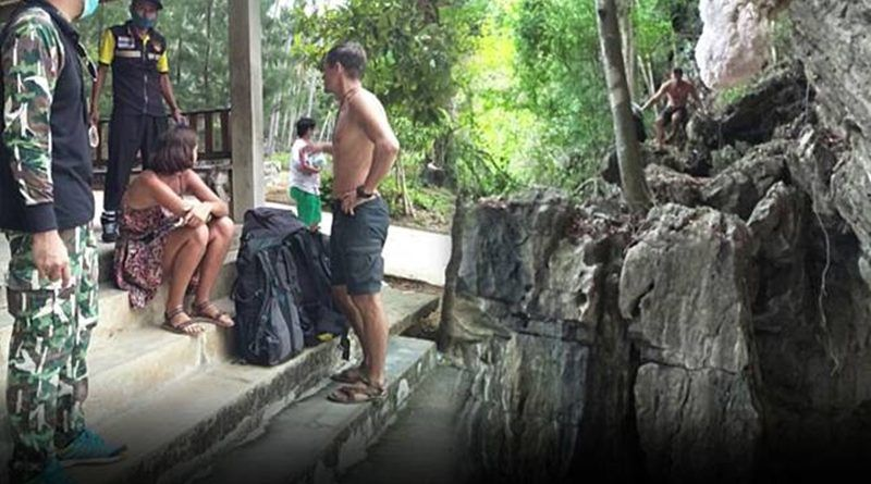 Stranded Russian couple have been living in a Krabi cave   The Thaiger