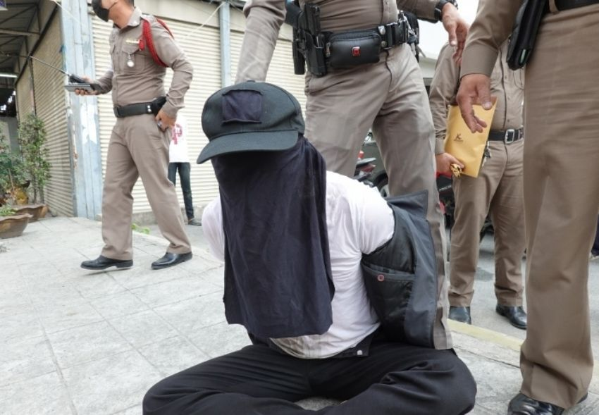 Desperate police officer nabbed trying to rob a bank in Chachoengsao | News by Thaiger