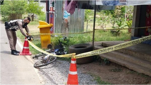 A box found by a villager in Phetchabun was identified as a bomb | News by Thaiger