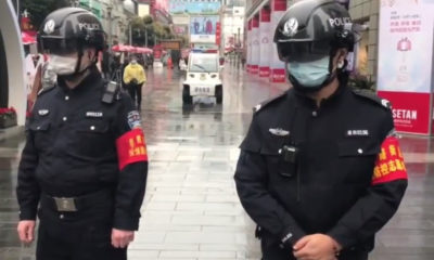 'Smart helmets' for Chinese epidemic prevention officers | The Thaiger
