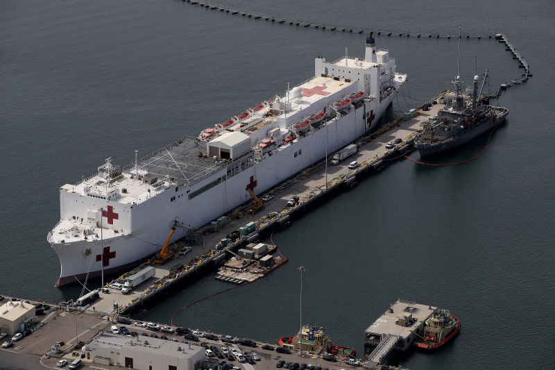 Train engineer attempts to destroy USNS Mercy hospital ship | News by Thaiger
